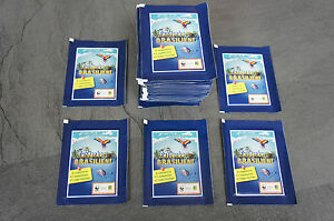 Edeka WWF Entdecke Brasilien 50 Tüten  250 Sticker Karten Neu und OVP Niet-sportkaarten Verzamelingen