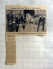 1961 Norman John Samuel Hullavington Marries Caroline Clarke, Bristol Nurse