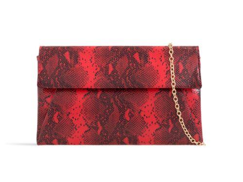 LeahWard Women/'s Faux Snakeskin Flap Clutch Bags Wedding Handbags