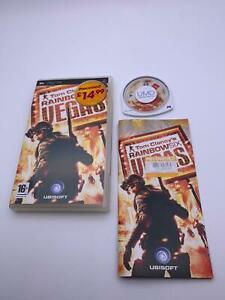 Video Juego 💎 🌟 PSP Tom Clancy's Rainbow Six Vegas 🌟 💎 Caja Y Manual Incluido