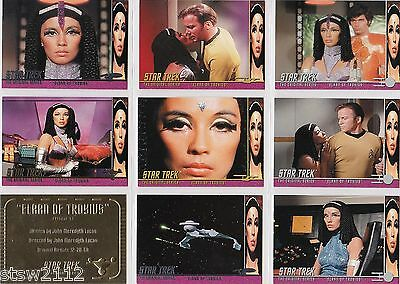 Star Trek TOS Archives /& Inscriptions Base Card #72 Variant 30