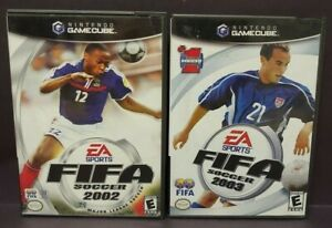 Fifa-Soccer-2002-2003-Nintendo-GameCube-Tested-Working-Game-Lot