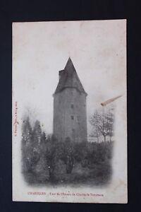 Tarjeta-postal-CPA-CHAROLLES-Torre-el-castillo-de-Carlos-La-Negrita