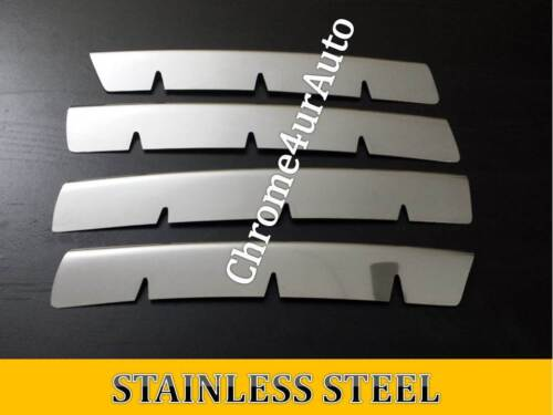 VW Touareg Chrome Front Grill  Covers Stainless Steel 2003//2007 4pcs