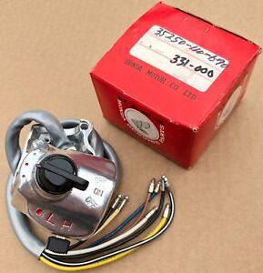NOS-Honda-Kill-Switch-Interruttore-Nero-Interruttori-SL100-K0-K2-amp-SL125-K0-K1