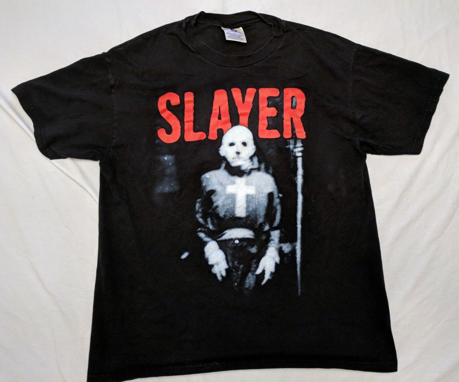 SLAYER Vintage T Shirt 90's CONCERT 1998 Diabolus In Musica TOUR Size Large