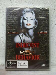 Shannon-Tweed-Movie-034-Indecent-Behavior-034-DVD-1993-Rare-Movie-Sexy-Thriller-NEW