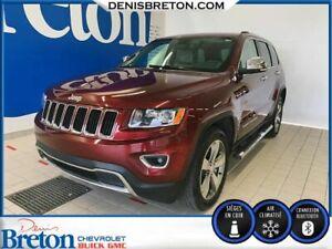 2016 Jeep Grand Cherokee Limited*CUIR BEIGE*GPS* MAG 20POUCE*CERTIFIÉ