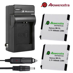 2X-NB-11L-NB11LH-Battery-Charger-For-Canon-PowerShot-SX410-SX400-IS-ELPH-350
