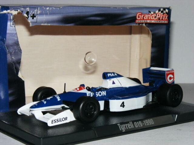 e2158f23b269d Atlas Editions Tyrrell 019 Jean Alesi 1990 Grand Prix Legends of ...