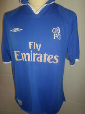 "Chelsea 2001-2003 Home Football Shirt Size Large 41""/43"""