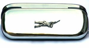 Game Shooter Design Glasses Spectacle Case  Shooting Gift FREE ENGRAVING