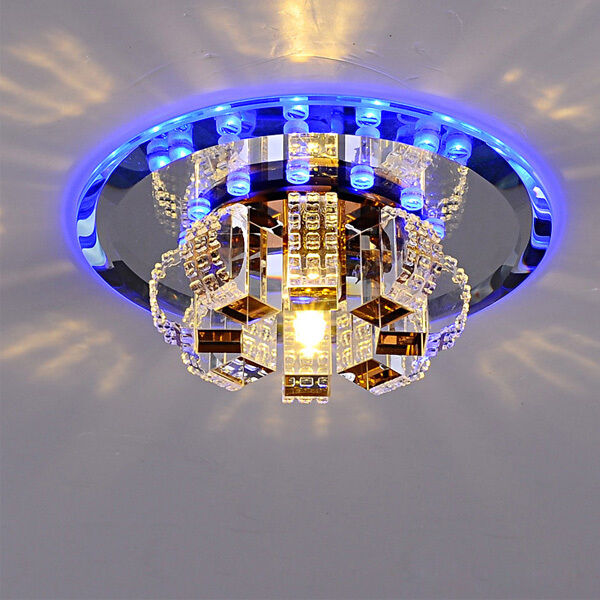 Modern crystal led ceiling light pendant lamp fixture lighting modern crystal led ceiling light pendant lamp fixture lighting chandelier l96 aloadofball Choice Image