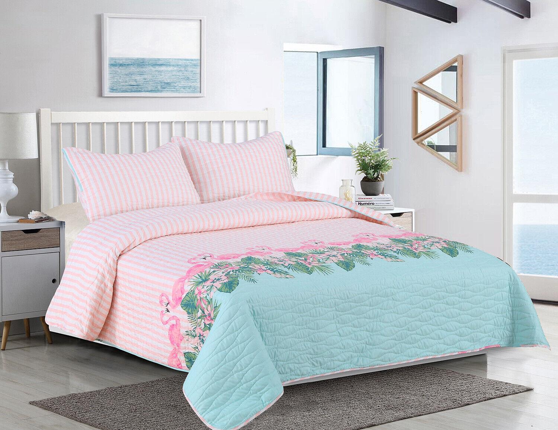 Ivy Hill Ocean Retreat 3 Pc Full Queen Quilt Set Bedding Full Queen Pink Multi For Sale Online Ebay