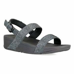 8d51b4bc8086 Image is loading Fitflop-Womens-Lottie-Glitzy-Sandals-Pewter