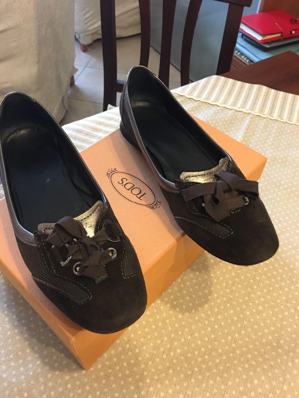 Sconto del 40% Tod's scarpe donna 37 1 2 scarpe scarpe scarpe da ginnastica  comprare a buon mercato