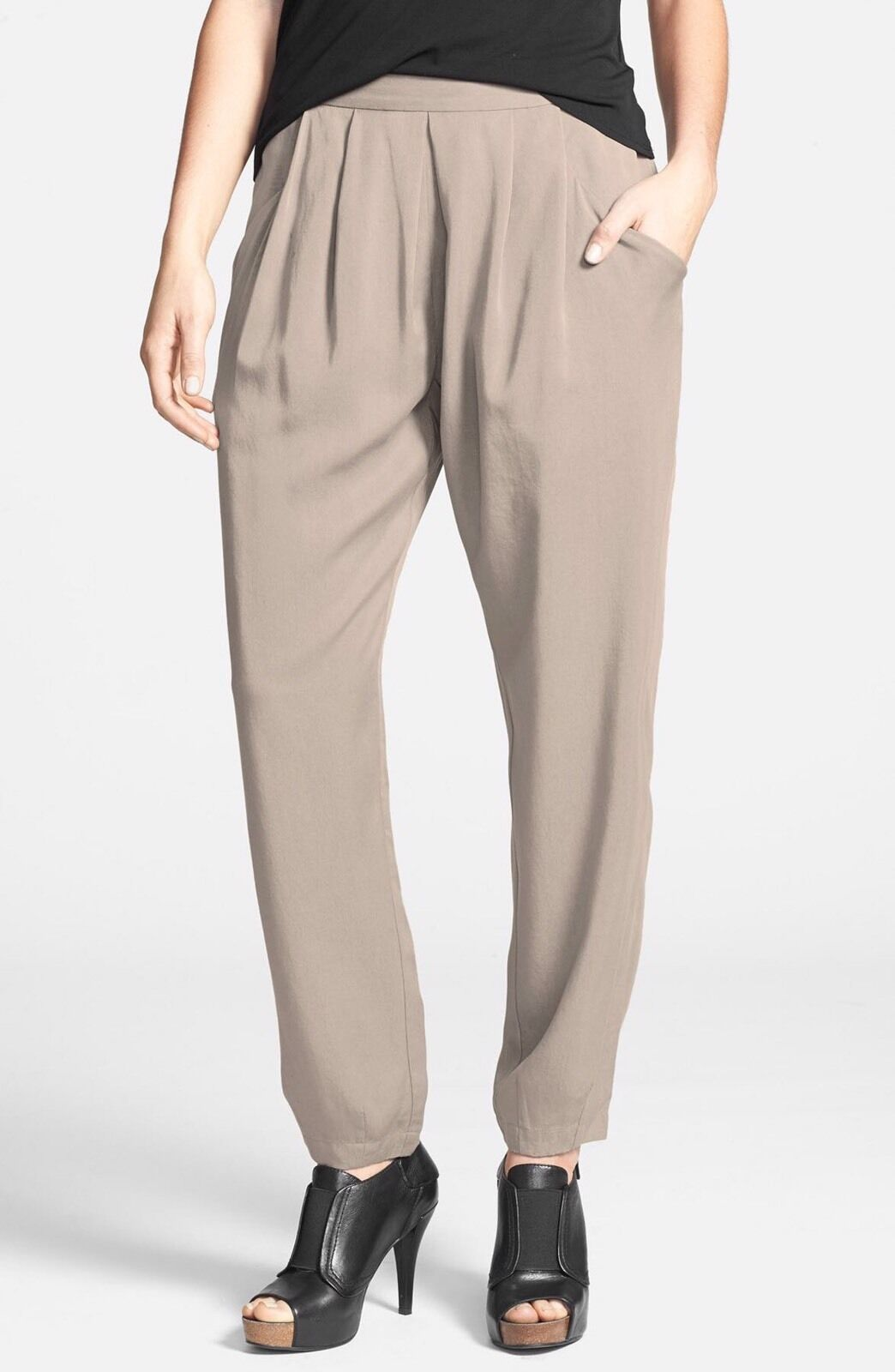 Eileen Fisher Tencel Twill Pants   198. Sold Out