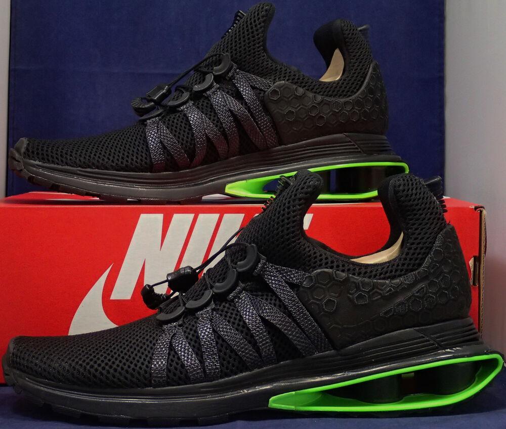 Nike Shox Gravity Luxe noir Green Strike SZ 11 ( AR1470-003 )