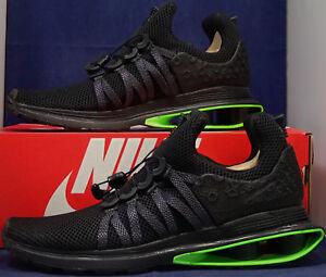 Nike Shox Gravity Luxe Black Green Strike SZ 9 ( AR1470-003 )  ee271679b