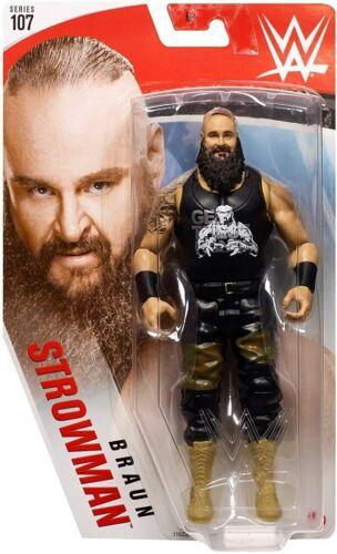 neuf emballé Mattel WWE Wrestling 107 Action Figure