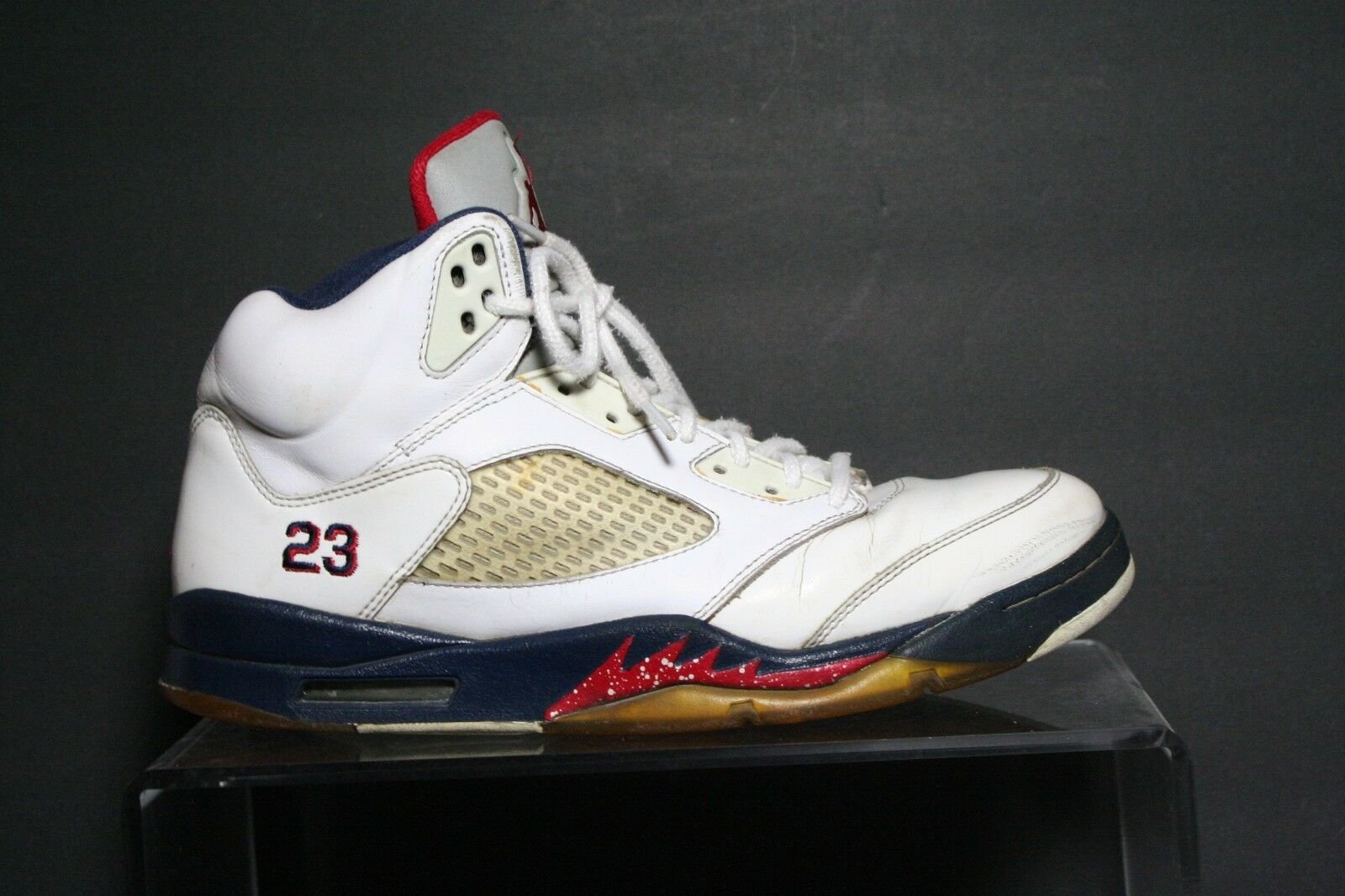 Nike Air Jordan 5 V Retro Olympic Sneaker 11' Athletic USA Multi Men 10 Hip