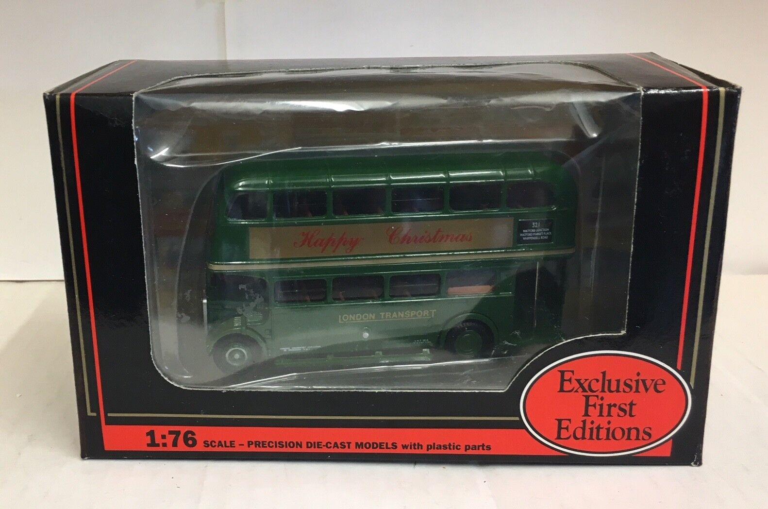 EFE LONDON TRANSPORT AEC RT BUS HAPPY CHRISTMAS(ALLSORTS RT3148)-10121X2