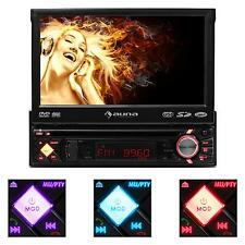 "IN-CAR DVD PLAYER CD STEREO RADIO 7"" LCD TOUCH SCREEN BLUETOOTH MULTIMEDIA VIDEO"