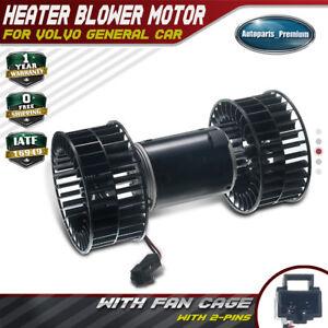 Heater Blower Motor w// Fan Cage A//C fit VOLVO TRUCK VN /& VNL-3946686 new