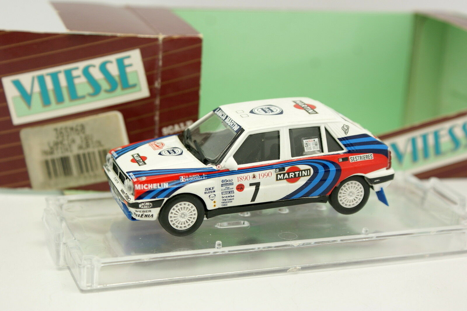 Vitesse 1 43 - Lancia Delta HF Integrale 8V Martini Rallye Monte Carlo 1990