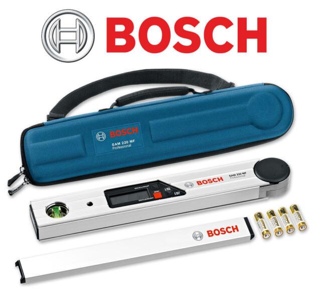 Bosch GAM 220 MF Professionnel Numérique angle mesure Niveau à bulle / Mitre