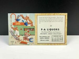 Vintage-LAWSON-WOOD-From-Bad-To-Wurst-Marketing-Postcard