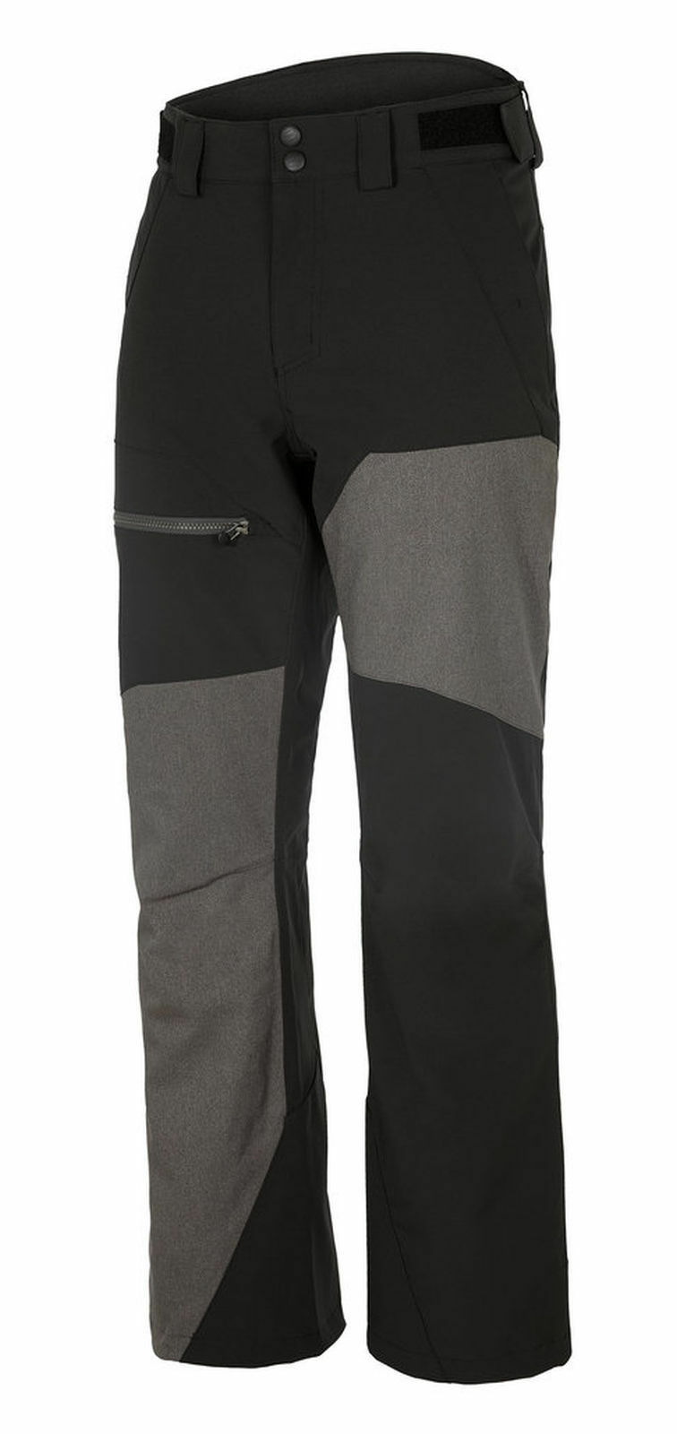 Ziener Hombre Pantalones de Esquí Pantalones Esquí Tionesta Man Pantalones Negro