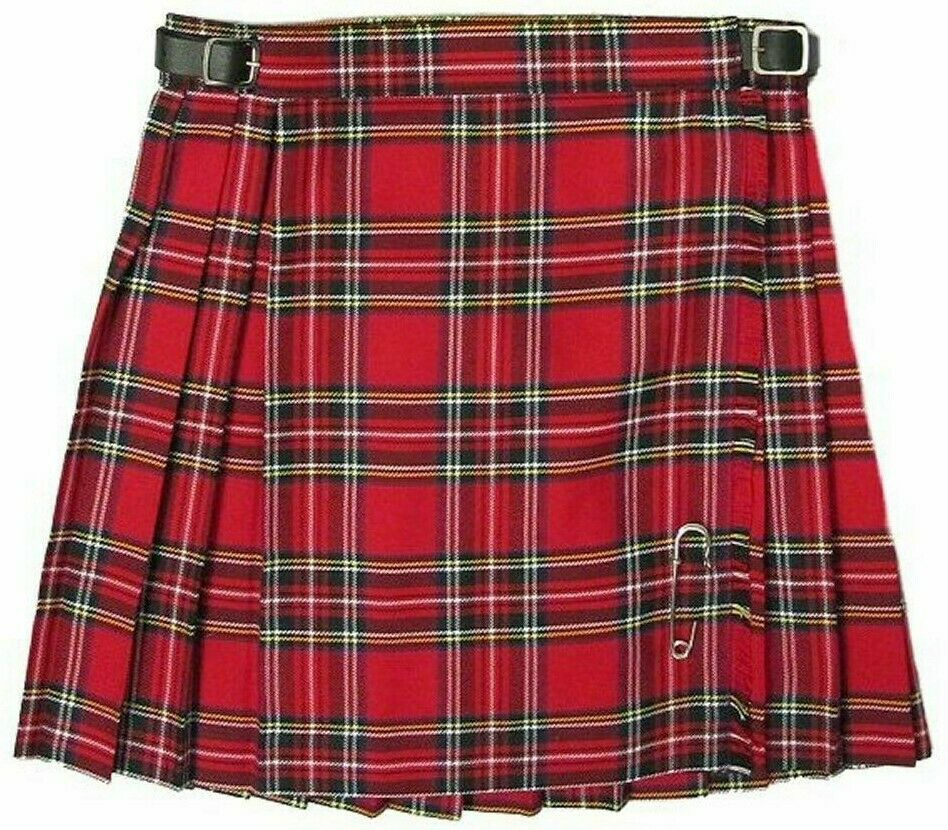 Traditional Scottish Girls Skirt Kilts Made In Scotland New