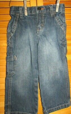 4T 5T Pull-on Chino Pants Light Blue Adjust Waist OshKosh B'gosh Boys 3T