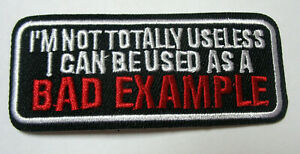 Bad-Example-Aufnaeher-Patch-Motorcycle-Biker
