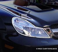 Mercedes Sl 2009-2013 Headlight Chrome Trim Upgrade (one Set)