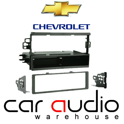 Connects2 Chevrolet Lacetti 2002 On Car Stereo Single Din Fascia Panel