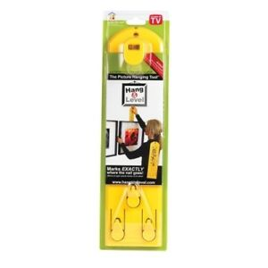 Under The Roof Hang And Level Picture Hanging Tool Ebay