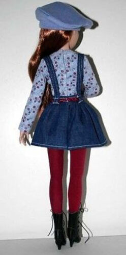 Beat Nic Doll Clothes Sewing Pattern Top Skirt Beret Ellowyne Wilde Tonner