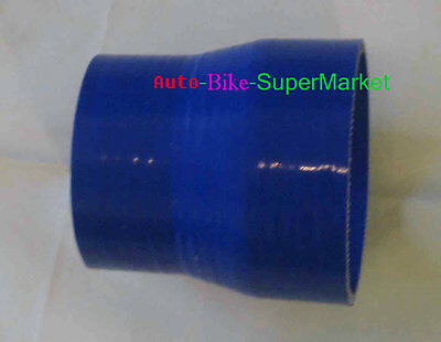"""3"""" to 2.5"""" Inch Silicone Straight Reducer hose Intercooler silicon Pipe Turbo"""