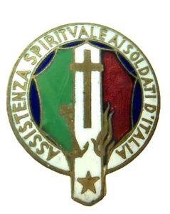 Distintivo-Assistenza-Spirituale-Ai-Soldati-D-Italia-Militare-Pins-D195