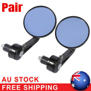7-8-034-Universal-Motorcycle-Round-Rear-View-Handle-Bar-End-Rearview-Side-Mirror