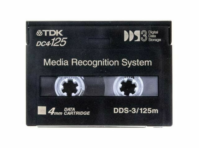 120m Data Tape  DDS-2 TDK 4mm New sealed Lot of 5.