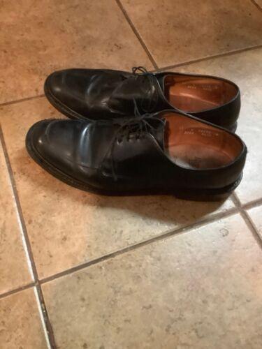 ALLEN EDMONDS Brentwood Mens 11 D Black Leather De