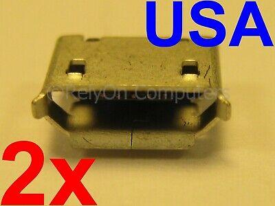 2x Micro USB Charging Port for Altec Lansing Mini LifeJacket 2 Bluetooth Speaker