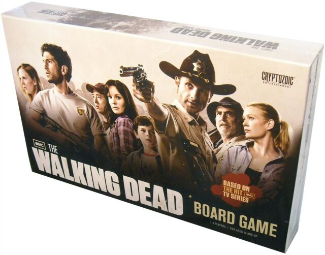 Cryptozoic Entertainment, The Walking Dead TV Series Board Game, New