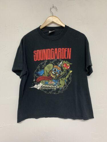 Soundgarden 1990s Tour Shirt Brockum Tag XL