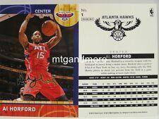 Panini NBA (Adrenalyn XL) 2013/2014 - #001 Al Horford - Golden Foil Signature