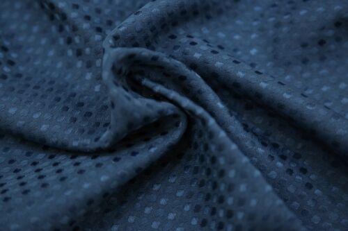 Blau auf Gepunktet Tischdecke Waschmaschinenwäsche 180cm X 130cm 6ft