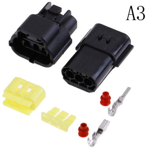 1 set 1//2//3//4//6//8//10//12 Pin Way Waterproof Wire Connector Plug Car connectors UK